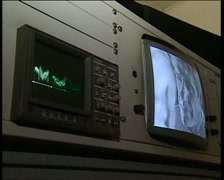 Audiogram Stock Footage
