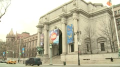 American Museum of Natural History Stock Footage