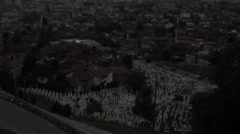 Stock Video Footage of Sarajevo view 2
