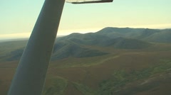 Alaska mountains. Aerial view Stock Footage