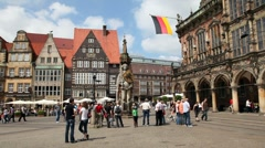 Bremen, Germany Stock Footage