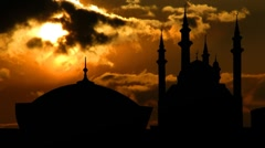 Kazan Kremlin 01 – Qolsharif Mosque Stock Footage