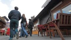 Street. Sarajevo. 4 Stock Footage