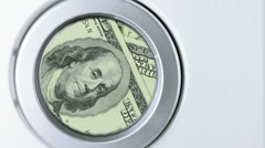 Money Laundering Concept Stock Footage
