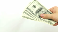 Teasing with Cash Stock Footage