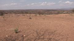 Kenya: Dry Farmers Field Stock Footage