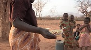 Stock Video Footage of Kenya: Feeding the Family
