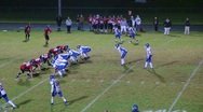 Stock Video Footage of Player Intercepts Football 06
