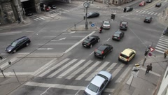 Road traffic in Vienna (9/10) Stock Footage