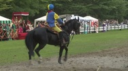 Stock Video Footage of saracen joust cernobbio brienno knight 04 e