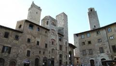San Gimignano, Tuscany Stock Footage