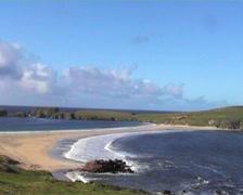St Ninian's Isle Shetland Islands Scotland Stock Footage