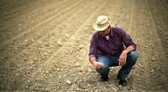 Stock Video Footage of Farmer verifying soil; Full HD Photo JPEG