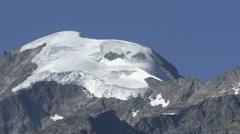 Bernina Glacier 4 Stock Footage