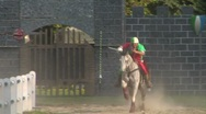 Stock Video Footage of saracen joust tavernola camerlata 04 e