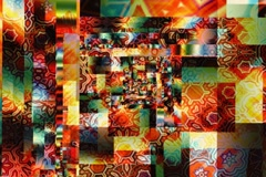 Crazy quilt (720 x 480 version) Stock Footage