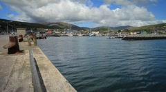 Dingle Harbour Fishing Port, Ireland GFHD Stock Footage