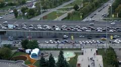 highway traffic - stock footage