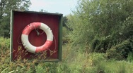 Stock Video Footage of Life Buoy