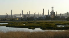 Oil Refinery Stock Footage