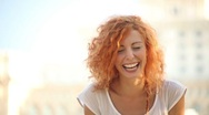 Stock Video Footage of Young Adult Woman Smiles