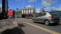 Dingle Town, Ireland GFHD Stock Footage