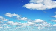 Time-lapse of clouds. Stock Footage