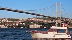 Bosporus Stock Footage