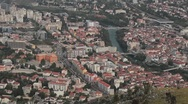 Stock Video Footage of View of Mostar