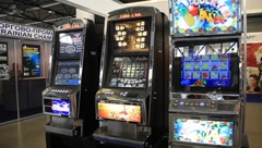 Arcade machines Stock Footage