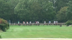 Horse Racing 20110911-133222 Stock Footage