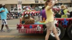 Parade 4 Stock Footage