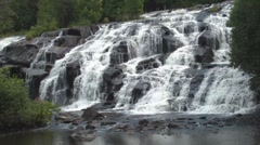 Bond Falls 5 - stock footage