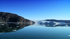 Melting Arctic Waters from Global Warming - stock footage