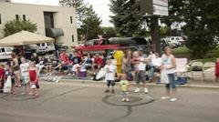 Parade 7 Stock Footage