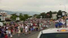 Parade Stock Footage