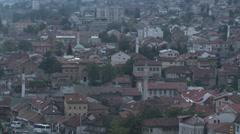 Sarajevo view 8 Stock Footage