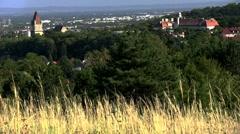 Perchtoldsdorf in Austria Stock Footage