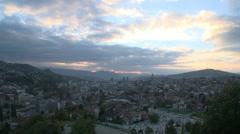 Sarajevo view 11 Stock Footage