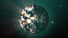 Green planet Stock Footage