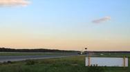 Stock Video Footage of Airport runway timelapse
