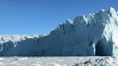 Majestic Ice Glacier in the Arctic Stock Footage