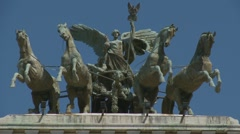 Palazzo di Giustizia  - CORTE DI CASSAZIONE, Rome (3 shots) Stock Footage