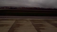 Time-Lapse Airport taking off Stock Footage