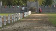 Stock Video Footage of saracen joust tavernola camerlata 01 e