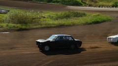 Folkrace (autocross), pan Stock Footage