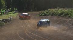 Folkrace (autocross) Stock Footage