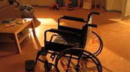 Stock Video Footage of wheelchair