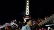 Oriental Pearl Tower in Shanghai, China Stock Footage