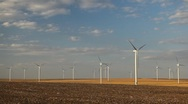 Clean and Renewable Energy, Wind Power, Turbine, Windmill, Energy Production Stock Footage